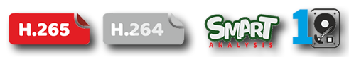 h265 ve disk özellikleri veri analizi